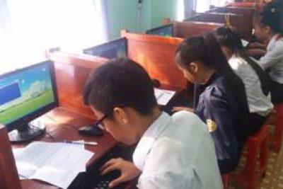 Huyện đoàn An Lão phối hợp tổ chức Hội thi Tin học trẻ không chuyên huyện An Lão lần thứ VII- năm 2017